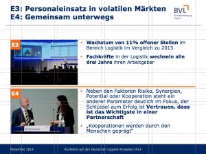 Bericht BVL-Kongress 2014